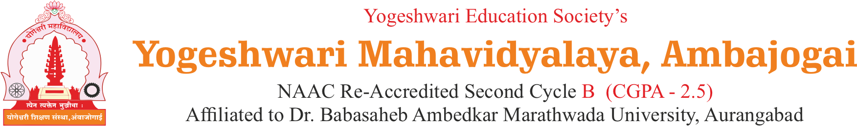 Welcome to Yogeshwari Education Society, Ambajogai